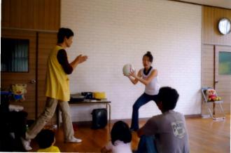 親子活動の講師