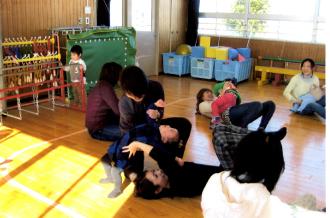 県内外にて親子サークルと親子フィットネス指導